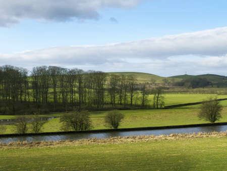 north yorkshire: Yorkshire Dales Countryside in Northern England Stock Photo