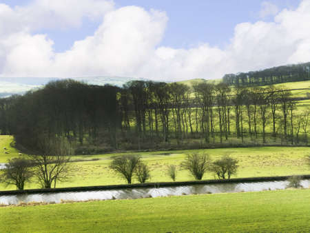 Yorkshire Dales Countryside in Northern England photo
