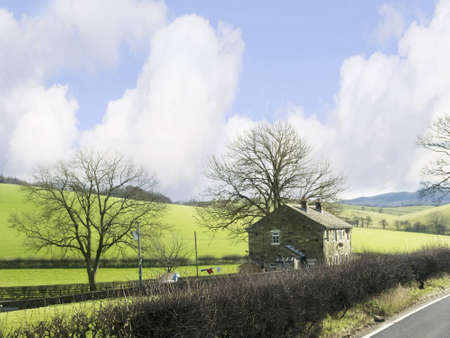 wensleydale: Yorkshire Dales Countryside in Northern England Editorial