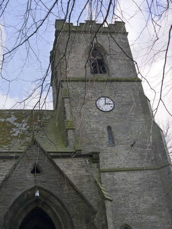 wensleydale: St Margarets Church in the Village of Hawes in the Yorkshire Dales England