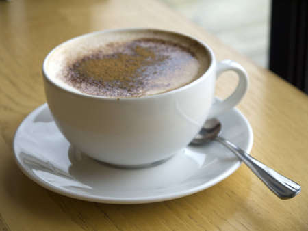 wensleydale: Cup of Capaccino Coffee