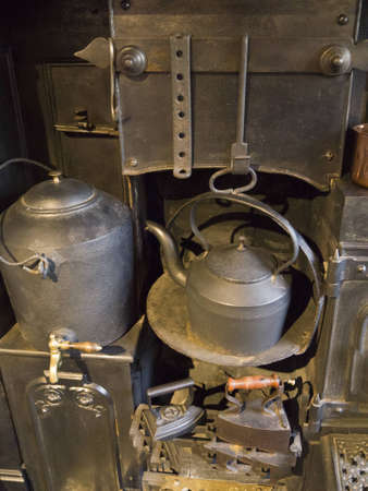 Ancient Kitchen Range and Oven