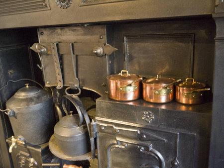 wensleydale: Ancient Kitchen Range and Oven