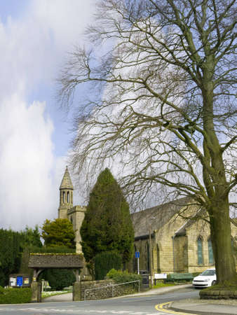 Settle Parish Church in North Yorkshire England