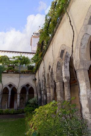 curtis: Cloister in Sorrento a popular wedding venue Italy Editorial