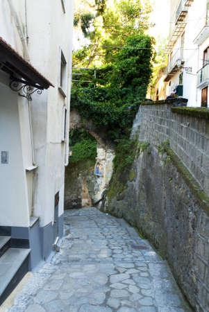 curtis: Walking down to Marina Grande the old fishing port of Sorrento in Southern Italy