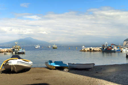 curtis: Marina Grande the old fishing port of Sorrento in Southern Italy