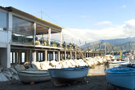 walter scott: Marina Grande the old fishing port of Sorrento in Southern Italy