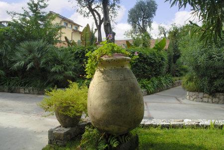 Beautiful Garden in Sorrento Italy
