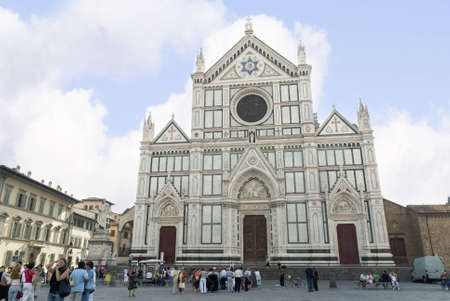 Church of Santa Croce in Florence Tuscany Italy
