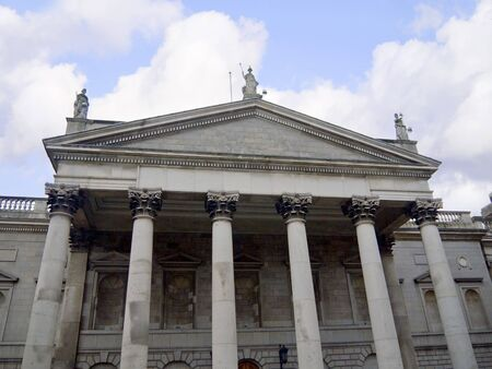 The General Post Office Scene of the 1916 Easter Rising in Dublin City Ireland