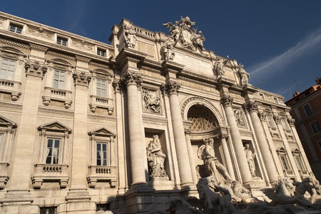 Trevi Fountain in Rome Italy Stock Photo - 12981640
