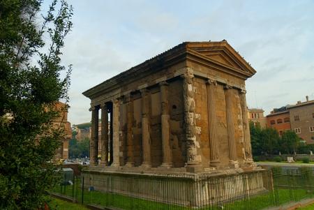 Temple of Vesta in Rome Italy