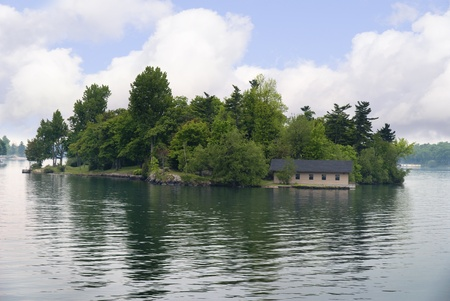 kingston: The 1000 islands in the St Lawrence Seaway Ontario Canada