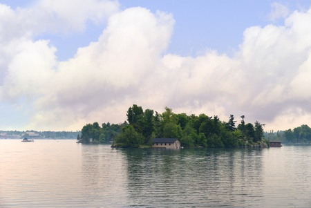 seaway: The 1000 islands in the St Lawrence Seaway Ontario Canada