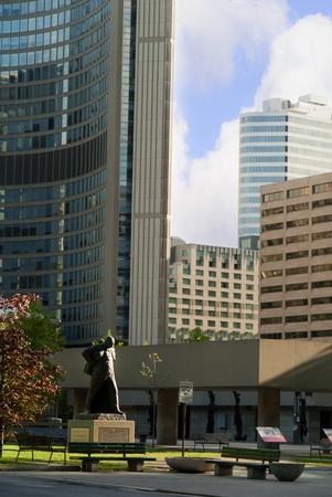 Cityskyline in Toronto Ontario Canada photo