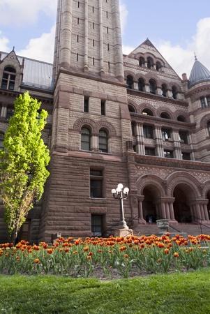 City Hall Clocktower in Toronto Ontario Canada photo