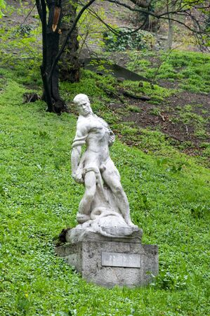 Statue in Grounds of Royal Palace in Budapest Hungary Stock Photo - 13329104