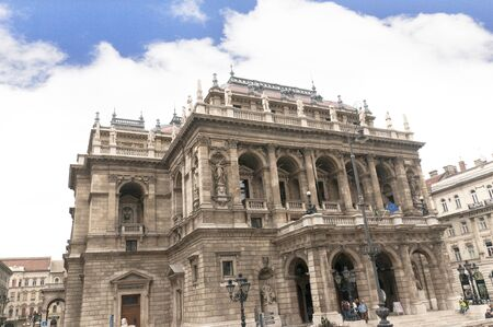 Hungarian State Opera House in Budapest Hungary Stock Photo - 13373113