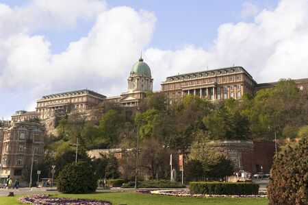 Castle or Royal Palace of Budapest Capital of Hungary