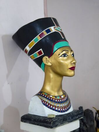 queen nefertiti: Copy of Statue of Egyptian Queen Nefertiti