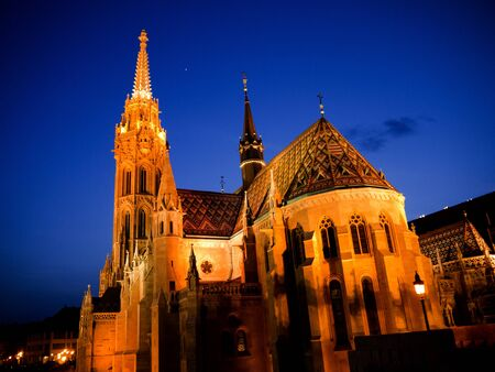 St Matthias Cathedral on Castle Hill Budapest Hungary photo