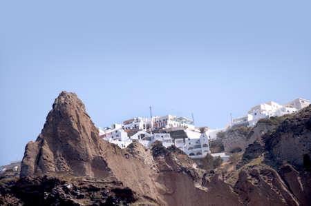 eacute: Fira dal Caldera nell'isola di Santorini in Grecia