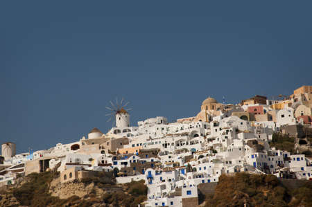 eacute: The Town of Oia on the Island of Santorini Greece