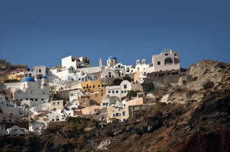 eacute: La citt� di Oia sull'isola di Santorini in Grecia