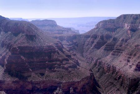 Looking down on the Grand Canyon Arizona photo
