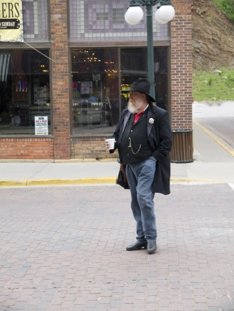 deadwood: re-enactor Deadwood South Dakota USA