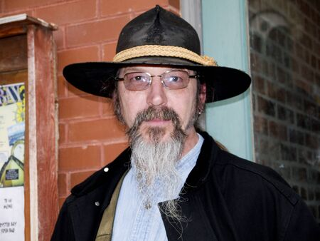 deadwood: Re-enactor in Deadwood South Dakota USA