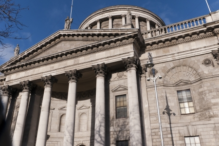The Four Courts in Dublin Capital City of Ireland