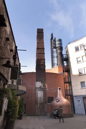 Whiskey Distillery in Dublin City Ireland