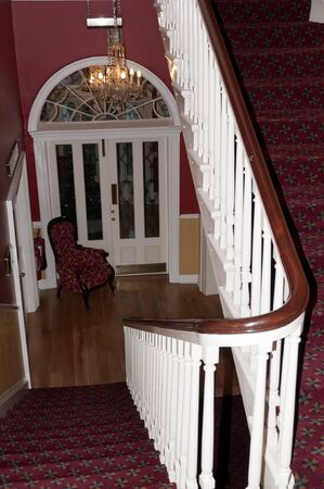 Entrance Hall of Georgian House in Dublin Ireland Stock Photo - 14338806