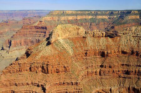 sedimentary: Sunset over Grand Canyon Arizona USA Stock Photo