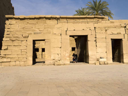 The Treasure House at Ancient Temple Complex of Karnak near Luxor in the Nile Valley in Egypt
