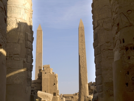 The Karnak complex is a vast open-air museum and the largest ancient religious site in the world  It is probably the second most visited historical site in Egypt
