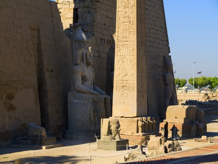Luxor Temple is a  temple complex located in the city of Luxor  ancient Thebes  and was founded in 1400 BC