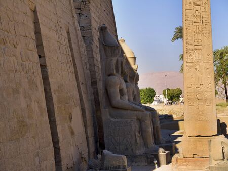 thebes: Luxor Temple is a  temple complex located in the city of Luxor  ancient Thebes  and was founded in 1400 BC