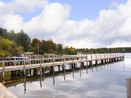 Wolfeboro is a town in Carroll County, New Hampshire, United States  A venerable resort area situated beside Lake Winnipesaukee, photo