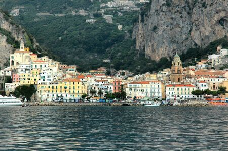 Approaching Amalfi from the Sea Campania Italy