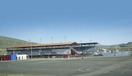 Rodeo Ground in Cody Wyoming USA