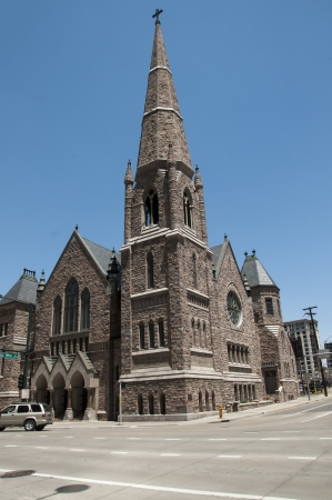 capital of colorado: Church in the City  of Denver which is the capital and the most populous city of the U S  state of Colorado