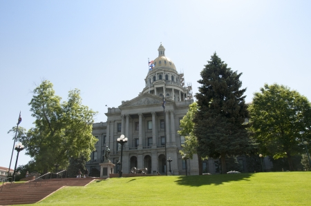 colorado: The Statehouse of Denver Colorado USA