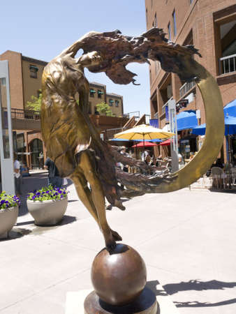 capital of colorado: Public Art in the City  of Denver which is the capital and the most populous city of the U S  state of Colorado