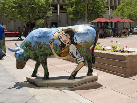 capital of colorado: Public Art in the City  of Denver which  is the capital and the most populous city of the U S  state of Colorado   Editorial