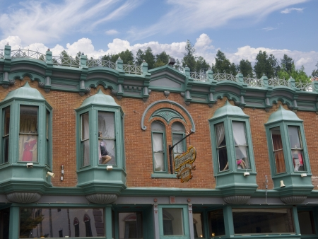 deadwood: Old Cowboy town of Deadwood South Dakota USA