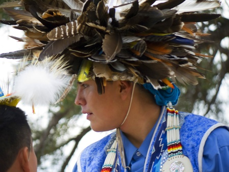 Hopi Indian in the Grand Canyon Arizona
