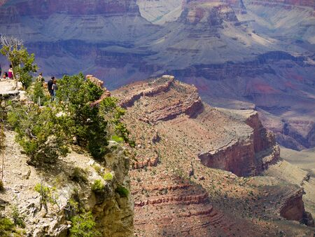 Looking down on the Grand Canyon Arizona photo